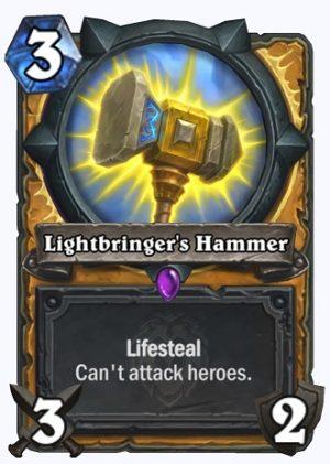 Lightbringer's Hammer Card
