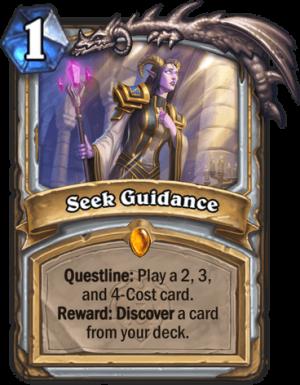 Seek Guidance Card