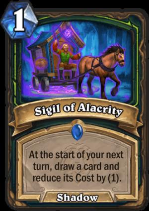 Sigil of Alacrity Card