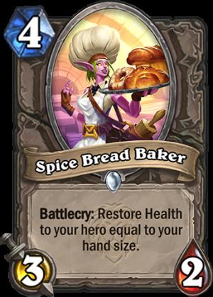 Spice Bread Baker Card