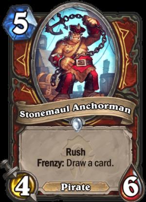 Stonemaul Anchorman Card