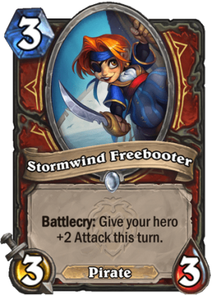 Stormwind Freebooter Card