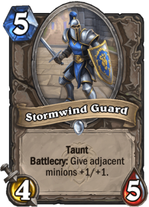 Stormwind Guard Card
