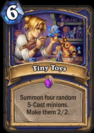 Tiny Toys Card