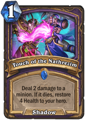 Touch of the Nathrezim Card