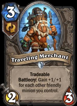 Traveling Merchant Card