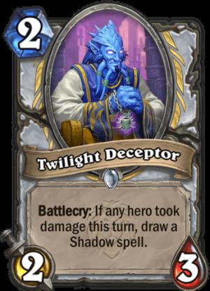 Twilight Deceptor Card