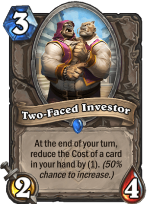 Two-Faced Investor Card