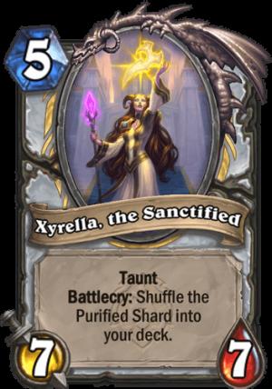 Xyrella, the Sanctified Card